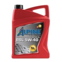 Моторное масло Alpine RSL 5W-40