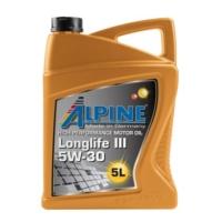 Моторное масло Alpine Longlife III 5W-30