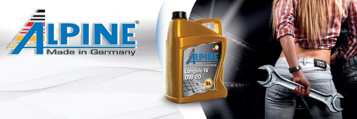 Масло моторное Alpine Longlife