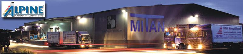 Завод MITAN Mineralol GmbH в городе Анкум