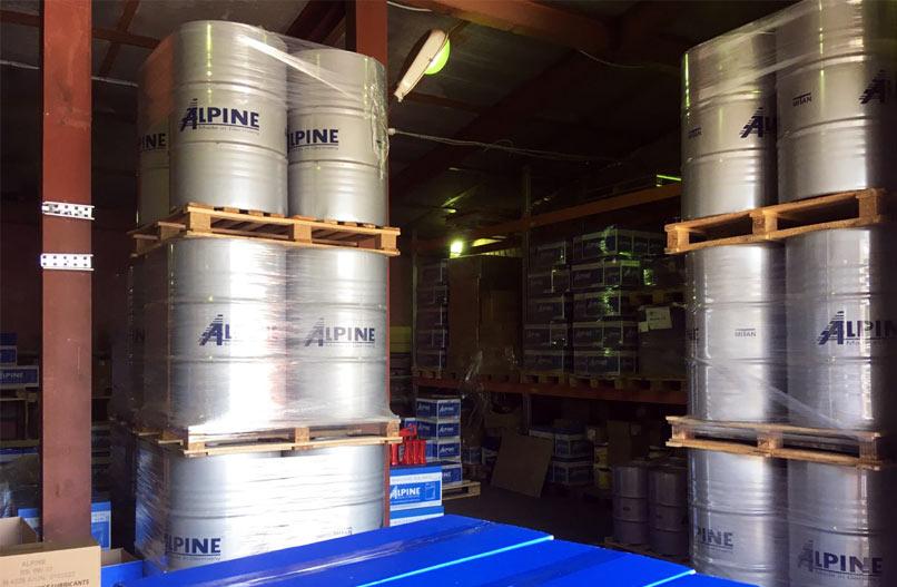 Склад масла Alpine